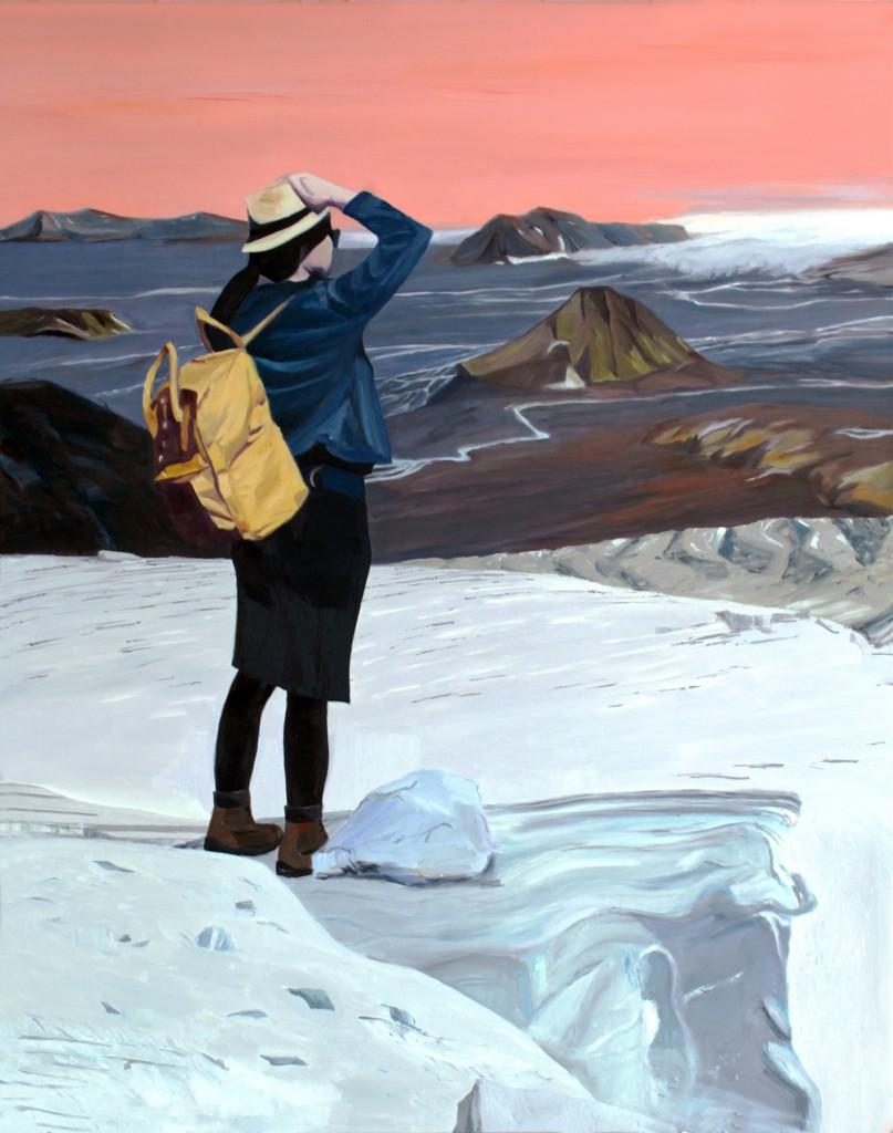 Udsyn | 115 x 145 cm, olie på lærred, optaget på Kunstnernes Sommerudstilling 2016
